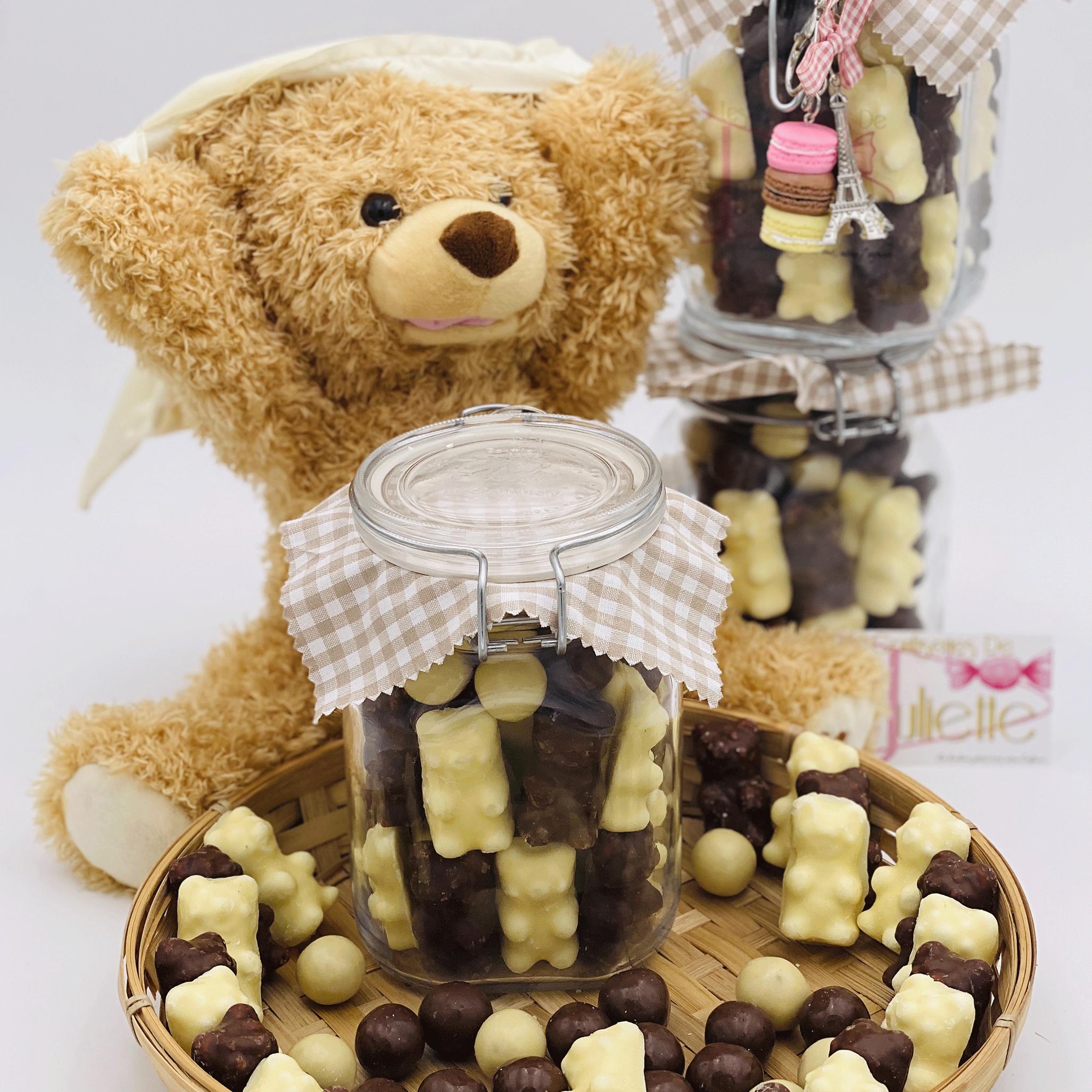 Bocal chocolat Guimauve