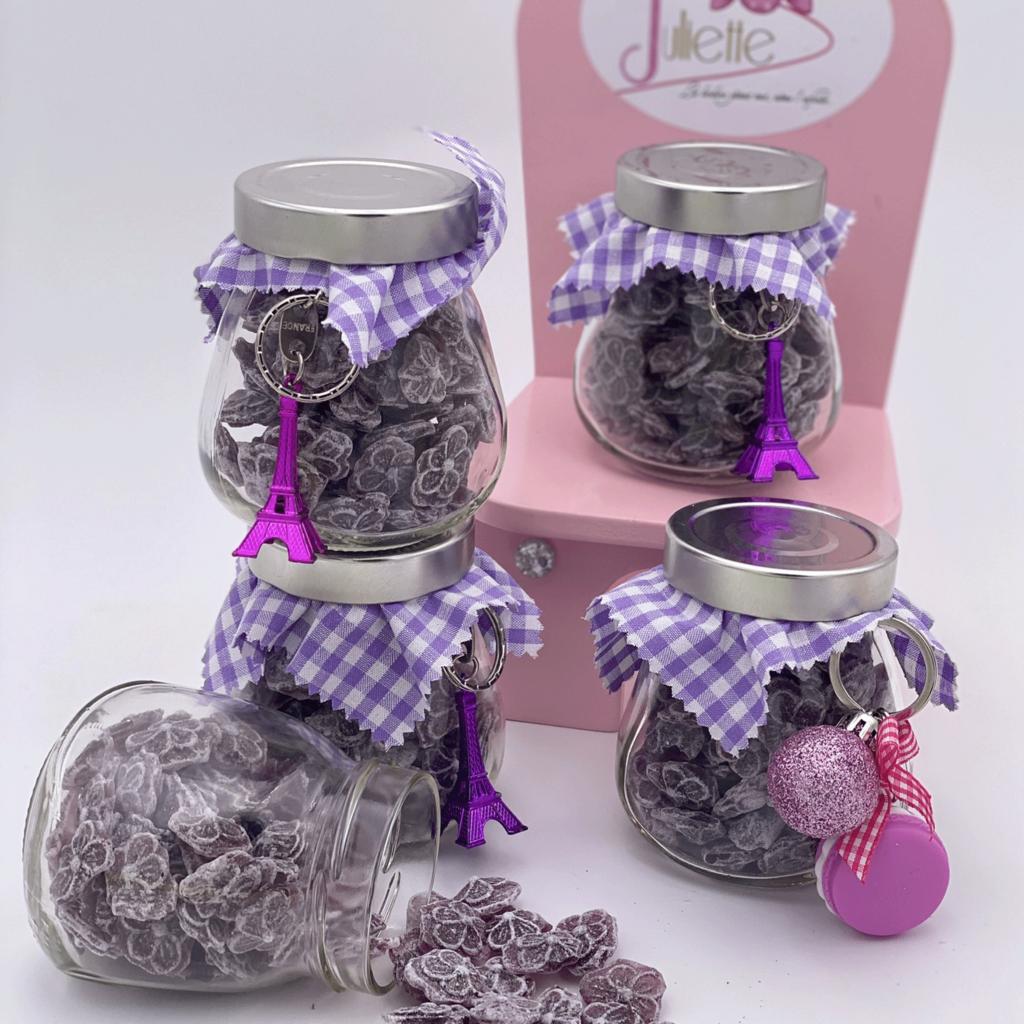Bonbonnière de violette