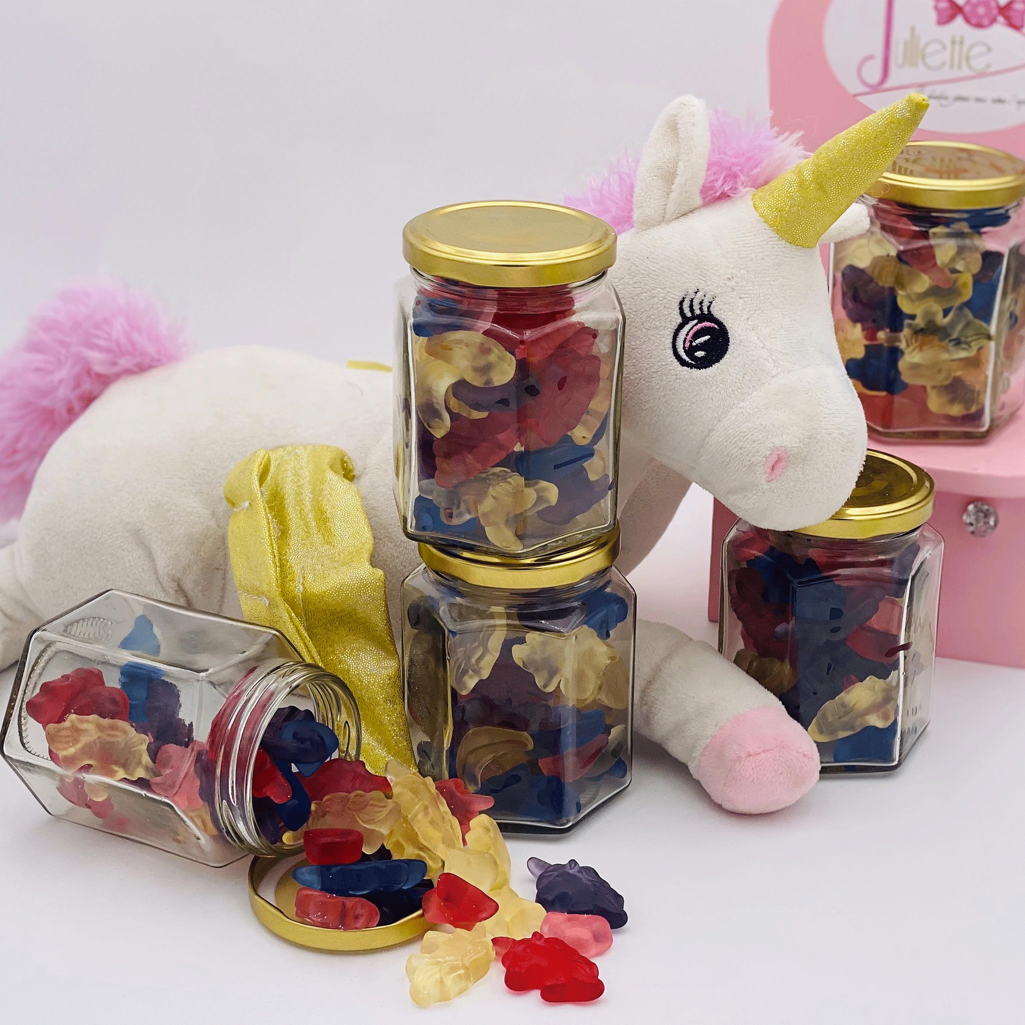 bonbonnière love licorne