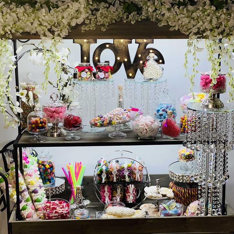 candy bar mariage confiseries de juliette